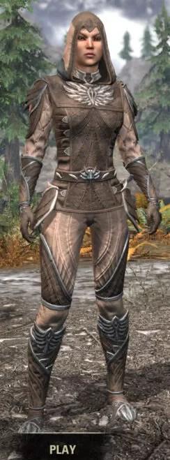 Ancestral High Elf Homespun - Female Shirt Front