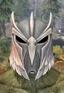 Ancestral High Elf Iron Helm - Argonian Male Front