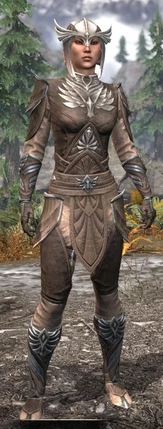 Ancestral High Elf Rawhide - Female Front