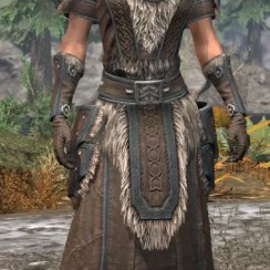 Ancestral Nord Homespun - Female Robe Front