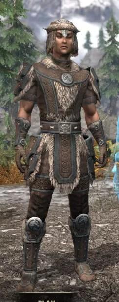 Ancestral Nord Homespun - Male Shirt Front