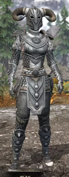 Ancestral Nord Iron - Female Front