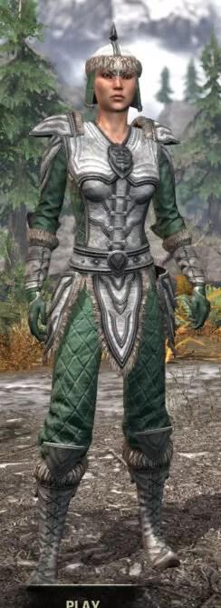 Ancestral Orc Homespun - Female Shirt Front