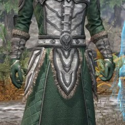 Ancestral Orc Homespun - Male Robe Front