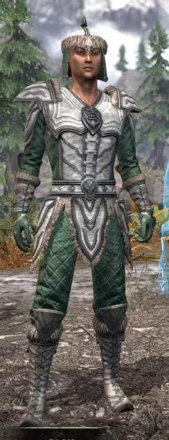 Ancestral Orc Homespun - Male Shirt Front