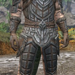 Ancestral Orc Rawhide - Argonian Male Front