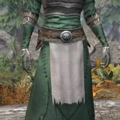 Blackreach Vanguard Homespun - Khajiit Female Robe Front
