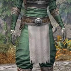 Blackreach Vanguard Homespun - Khajiit Female Shirt Front