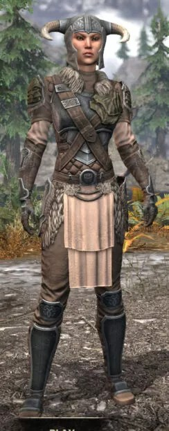 Blackreach Vanguard Iron - Female Front