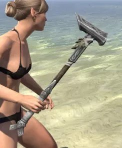 Blackreach Vanguard Iron Mace 2