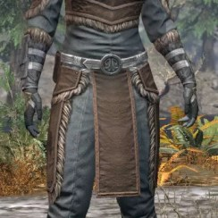 Blackreach Vanguard Rawhide - Khajiit Female Front