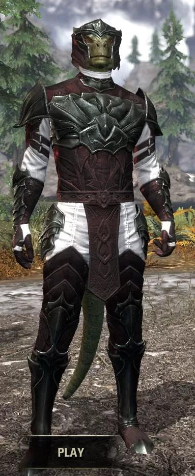 Greymoor Medium - Argonian Male Front