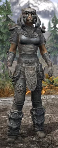 Sea Giant Iron - Khajiit Female Front
