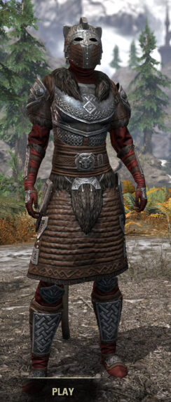 Swordthane Heavy - Khajiit Female Front