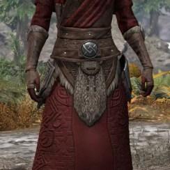 Swordthane Light - Khajiit Female Robe Front
