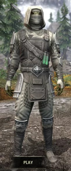 Hazardous Alchemy Honespun - Argonian Male Shirt Front