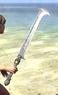 Hazardous Alchemy Iron Sword 2