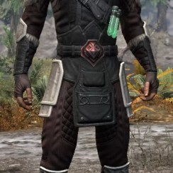 Hazardous Alchemy Light - Male Shirt Front