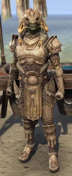 Sovngarde Stalwart - Argonian Male Front