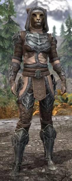 Thorn Legion Rawhide - Khajiit Female Front