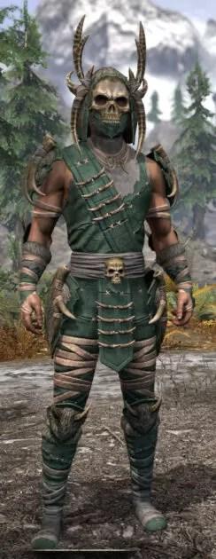 Ancestral Reach Homespun - Male Shirt Front
