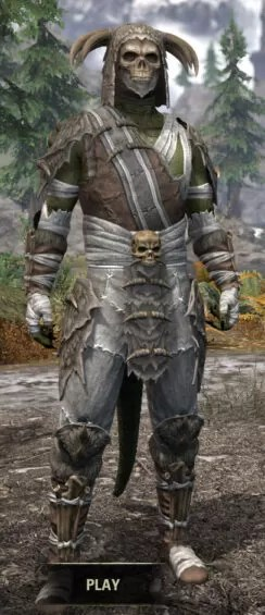 Ancestral Reach Rawhide - Argonian Male Front