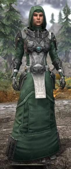 Arkthzand Armory Homespun - Female Robe Front