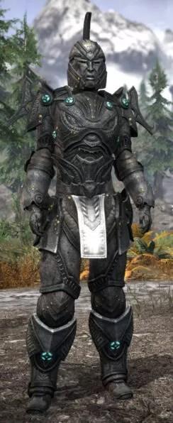 Arkthzand Armory Iron - Khajiit Female Front