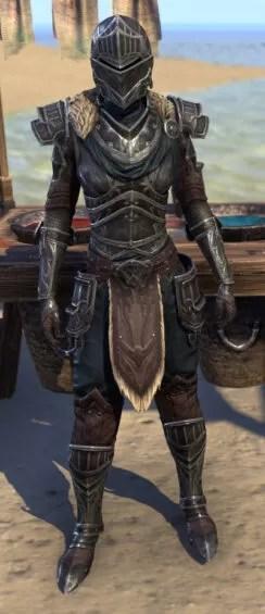 Ebonsteel Knight - Female Front