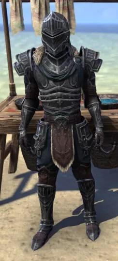 Ebonsteel Knight - Male Front
