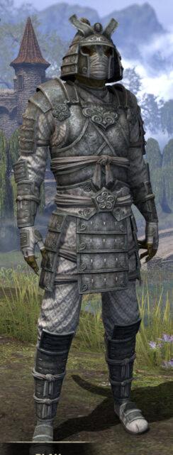 Ancestral Akaviri Iron - Argonian Male Front