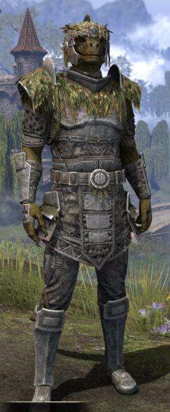 Black Fin Legion Iron - Argonian Male Front