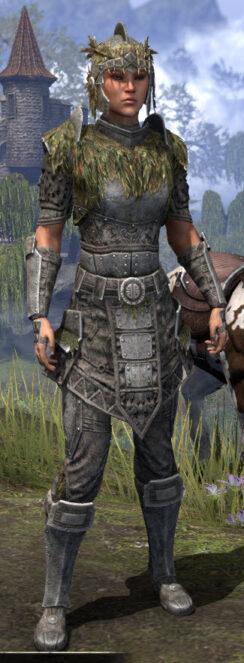 Black Fin Legion Iron - Female Front