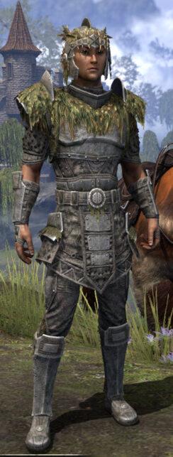 Black Fin Legion Iron - Male Front