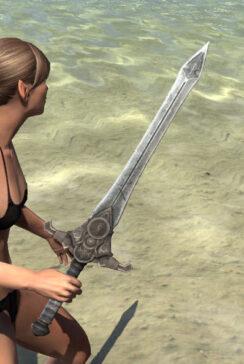 Ivory Brigade Iron Sword 2