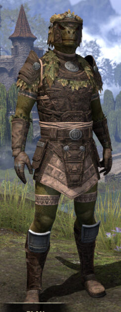 Black Fin Legion Rawhide - Argonian Male Front