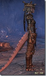 Argonian Dragonkngiht Veteran - Female Right