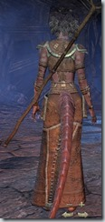 Argonian Sorcerer Novice - Female Back