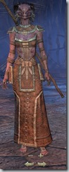 Argonian Sorcerer Novice - Female Front