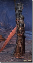 Argonian Sorcerer Veteran - Female Right