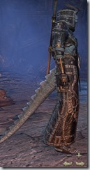 Argonian Sorcerer Veteran - Male Right