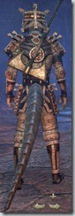 Argonian Templar Veteran - Male Back