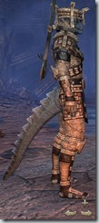 Argonian Templar Veteran - Male Right