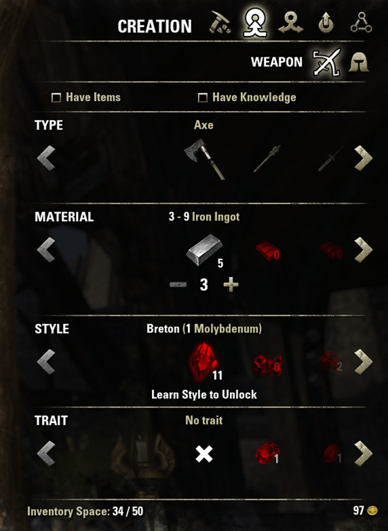 How to effectively level up Black Smithing? — Elder ...