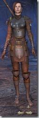 Breton Templar Novice - Female Front