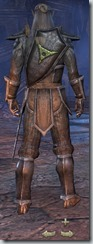 Dark Elf Dragonknight Novice - Male Back