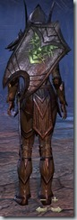 Dark Elf Dragonknight Veteran - Female Back