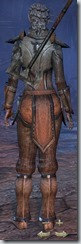 Dark Elf Templar Novice - Female Back