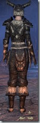 Nord Nightblade Veteran - Female Back