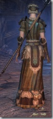 Nord Sorcerer Veteran - Female Back